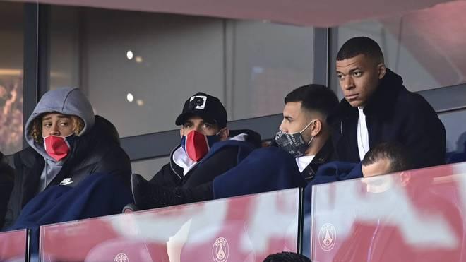 In der Ligue 1 war er zum Zuschauen verdammt: Kylian Mbappé