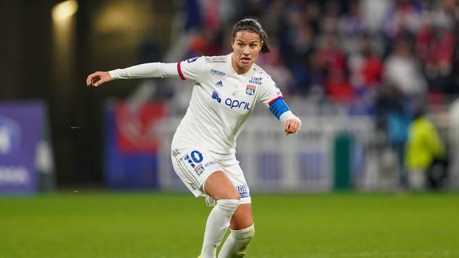 Dzsenifer Marozsan steht mit Olympique Lyon im französischen Pokalfinale