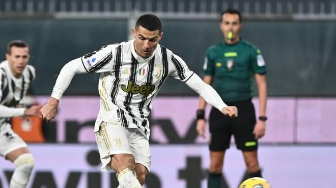 Ronaldo erzielte in seinem Jubiläumsspiel einen Doppelpack