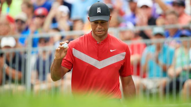 Tiger Woods musste sich einer Knie-OP unterziehen