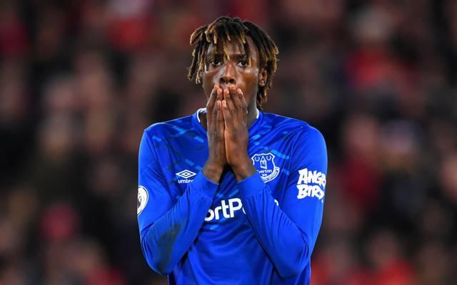Moise Kean wechselte im vergangenen Sommer von Juve zum FC Everton