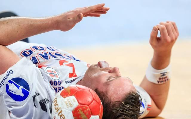 Norwegen-Star Sander Sagosen schied bei der Handball-WM im Viertelfinal-Duell mit Spanien verletzt aus