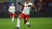 LEIPZIG, GERMANY - NOVEMBER 23: Christopher Nkunku of RB Leipzig controls the ball during the Bundesliga match between RB Leipzig and 1. FC Koeln at Red Bull Arena on November 23, 2019 in Leipzig, Germany. (Photo by Maja Hitij/Bongarts/Getty Images)