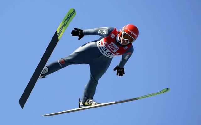 Katharina Althaus gehört zu den besten deutschen Skispringerinnen