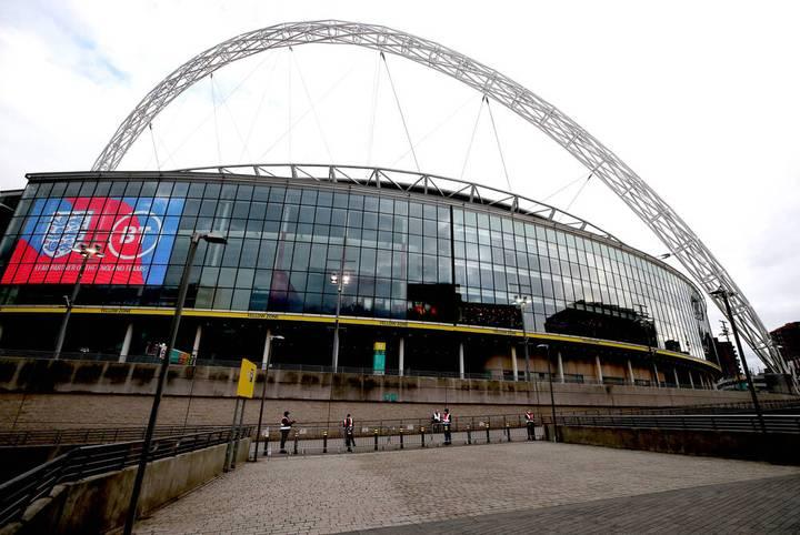 📍 London, England 🏟️ Wembley Stadion 🧍 90.000 Plätze