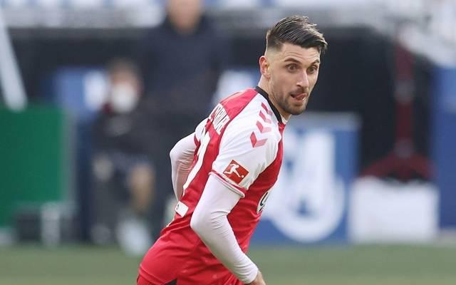 Vincenzo Grifo vom SC Freiburg wurde positiv auf Corona getestet
