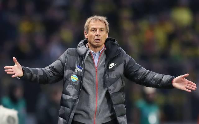 Jürgen Klinsmann soll Hertha BSC wieder nach oben führen