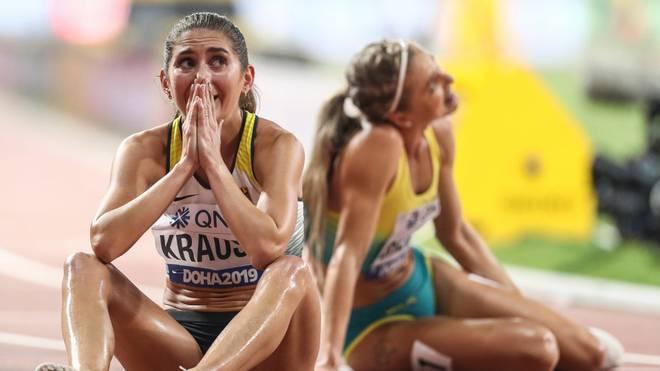 """Gesa Felicitas Krause schnappt sich die Bronze-Medaille - und die Auszeichnung zur """"Sportlerin des Monats"""""""