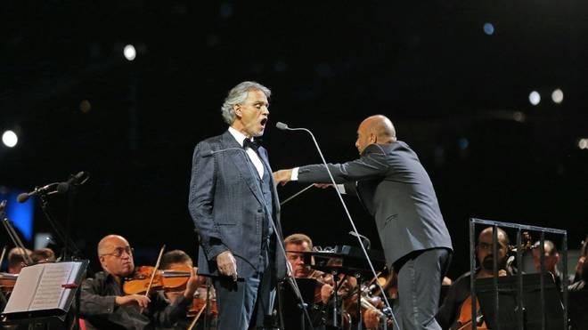 Andrea Bocelli singt beim EM-Eröffnungsspiel