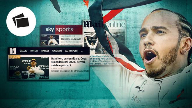 Lewis Hamilton hat beim Großen Preis von Abu Dhabi alle dominiert
