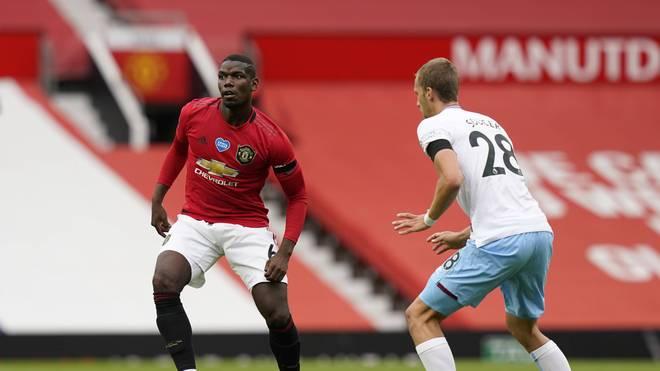 Paul Pogba von Manchester United verursachte einen Foulelfmeter