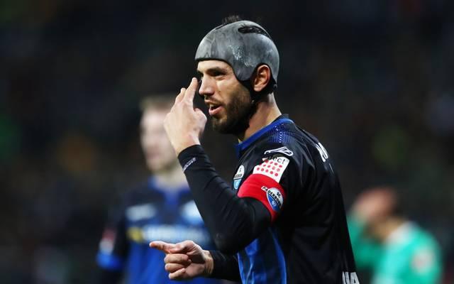 Klaus Gjasula fehlt dem SC Paderborn gegen Wolfsburg