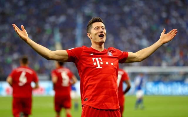 Robert Lewandowski verlängert seinen Vertrag beim FC Bayern vorzeitig