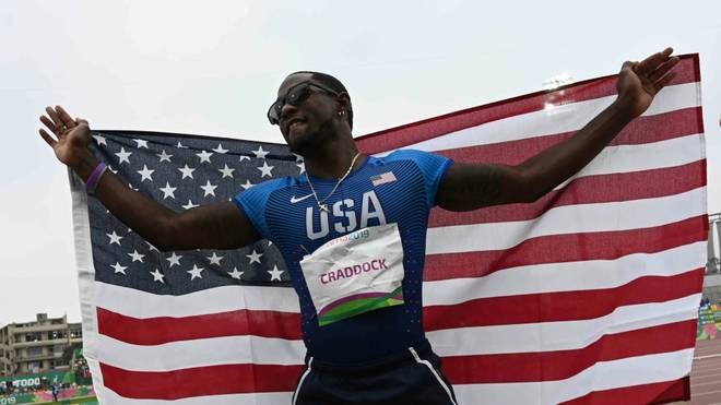 US-Dreispringer Omar Craddock vorerst suspendiert