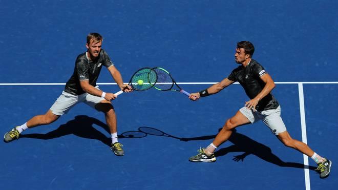 Kevin Krawietz und Andreas Mies stehen im Halbfinale der US Open