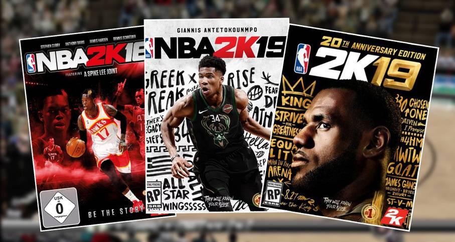 NBA2K wird dieses Jahr 20. Geburstag feiern. Zum Jubiläum erscheint LeBron James einmal mehr auf dem Cover. Doch welche Stars stellten ihr Gesicht in den vergangenen Ausgaben für die beliebteste Basketballsimulation zur Verfügung? SPORT1 zeigt alle bisherigen NBA2K-Titelbilder
