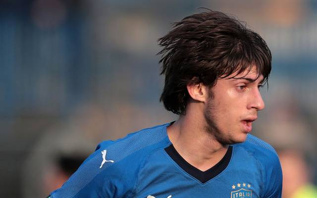 Mirko Antonucci ist Junioren-Nationalspieler Italiens