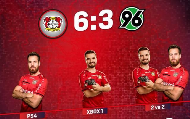 Bayer Leverkusens eSportler grüßen von der Tabellenspitze