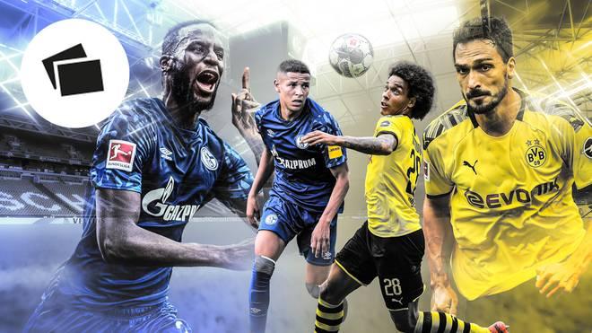Schalke und der BVB im Mann-gegen-Mann-Vergleich