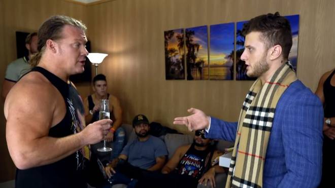 Was bahnt sich bei AEW an zwischen Chris Jericho (l.) und MJF?
