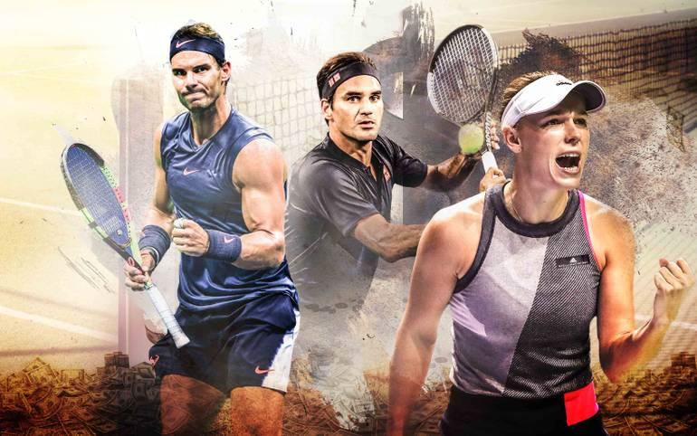 """Das ganze Jahr sind die Tennis-Profis rund um den Globus unterwegs und versuchen möglichst viel Geld einzunehmen. Das """"Forbes-Magazin"""" hat nun die Top-Verdiener des Jahres im Tennis-Zirkus enthüllt. SPORT1 zeigt die Top 10"""