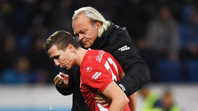 Marcel Sobottka zieht sich gegen Hoffenheim eine Verletzung zu