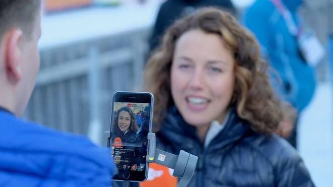 Laura Dahlmeier sah die Schieß-Leistung der deutschen Biathleten kritisch