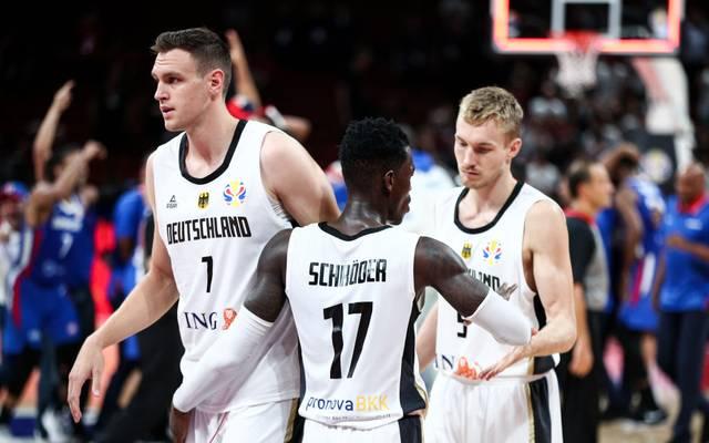 Die deutschen Basketballer sind mit einem Sieg gegen den Senegal in die Platzierungsrunde gestartet