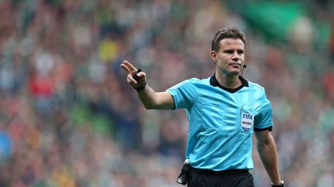 Dr. Felix Brych leitete die Partie zwischen Wolfsburg und Gladbach
