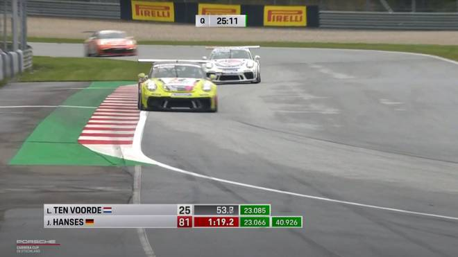 Der Porsche Carrera Cup machte Station in Spielberg