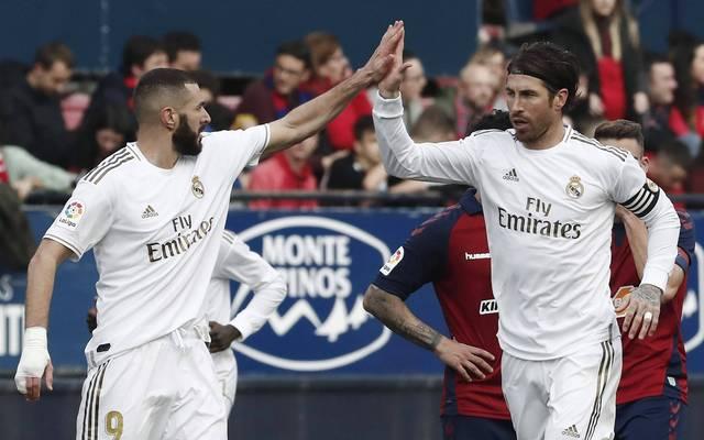Karim Benzema und Sergio Ramos erzielten gemeinsam in vier Spielen sechs Tore