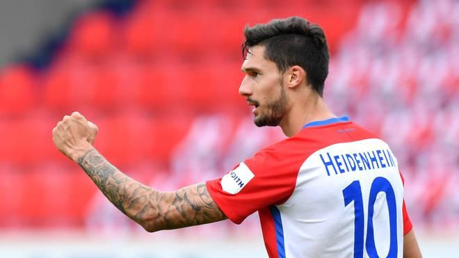 Tim Kleindienst ist der Top-Torschütze des 1. FC Heidenheim