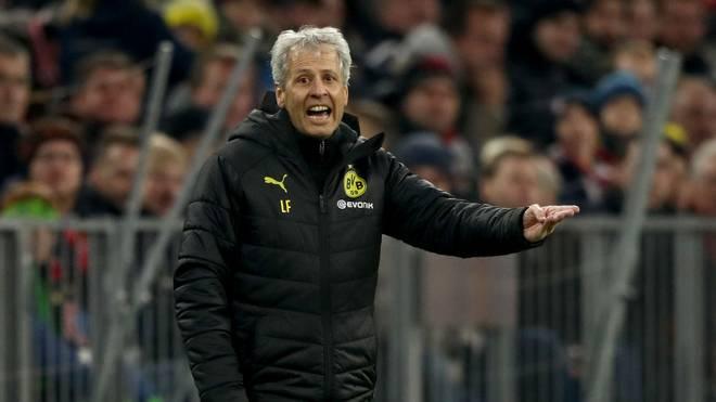 Wie geht es beim BVB weiter mit Trainer Lucien Favre?