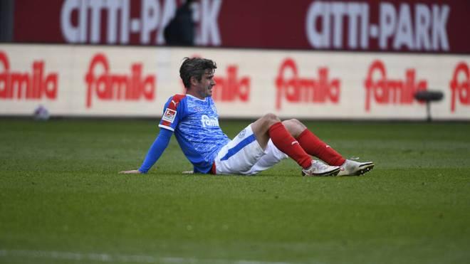Fin Bartels verspielte mit Holstein Kiel den direkten Aufstieg