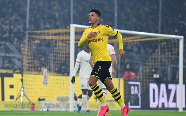 Jadon Sancho spielt seit 2017 bei Borussia Dortmund