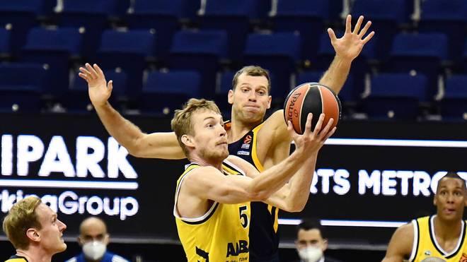 Niels Giffey machte 22 Punkte für ALBA Berlin
