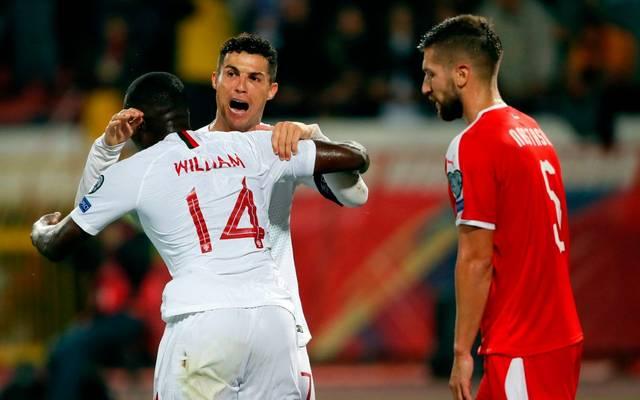 Portugal gewinnt in der EM-Qualifikation gegen Serbien
