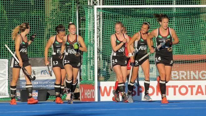 Die deutschen Hockey-Frauen fahren einen letzten Sieg vor der EM ein