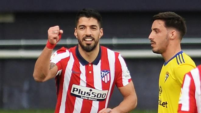 Suarez steht nach dem Sieg in Cadiz bei 14 Saisontoren