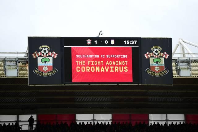 Das Coronavirus ist auch in der Premier League ein Thema