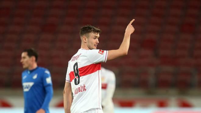 Sasa Kalajdzic erzielte bereits 13 Bundesliga-Tore