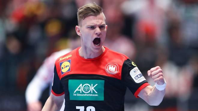 Timo Kastening spielt für die TSV Hannover-Burgdorf