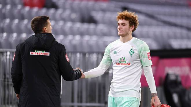 Josh Sargent fehlt Werder Bremen in Wolfsburg