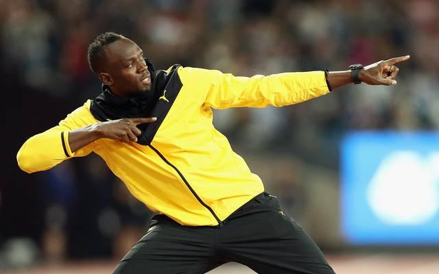 Usain Bolt zog sich 2017 von der Leichtathletik zurück
