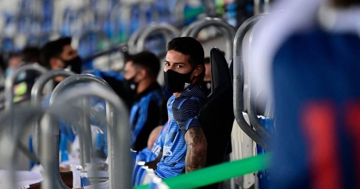 James Rodriguez verweigert Platz im Kader von Real Madrid