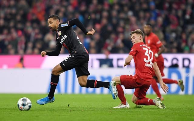 Bereits im Hinspiel zeigten sich die Bayer-Akteure immer wieder zu schnell für die Münchner