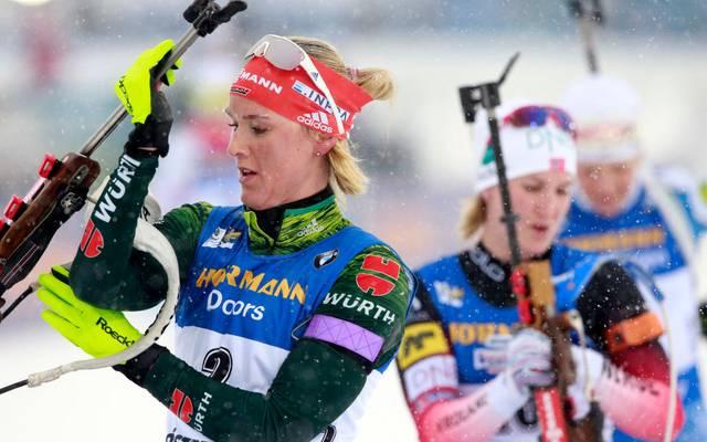 Denise Herrmann und die deutsche Staffel verpassen die Top 10