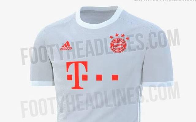 So soll offenbar das neue Bayern-Auswärtstrikot für die Saison 2020/21 aussehen