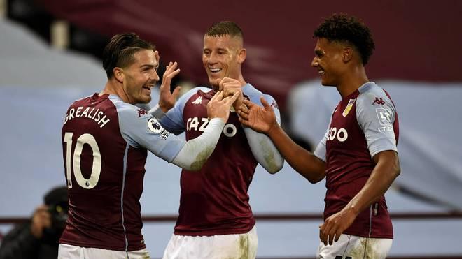 Jack Grealish (l.), Ross Barkley (M.) und Ollie Watkins sind die Leistungsträger bei Aston Villa