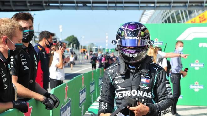 Lewis Hamilton fährt den nächsten Rekord ein